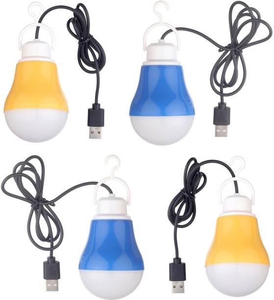Flipkart SmartBuy (Pack of 4) Portable Emergency USB Bulb Led Light
