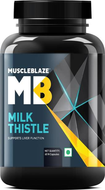 MUSCLEBLAZE Milk Thistle Liver Support Formula (with Silymarin 420 mg)