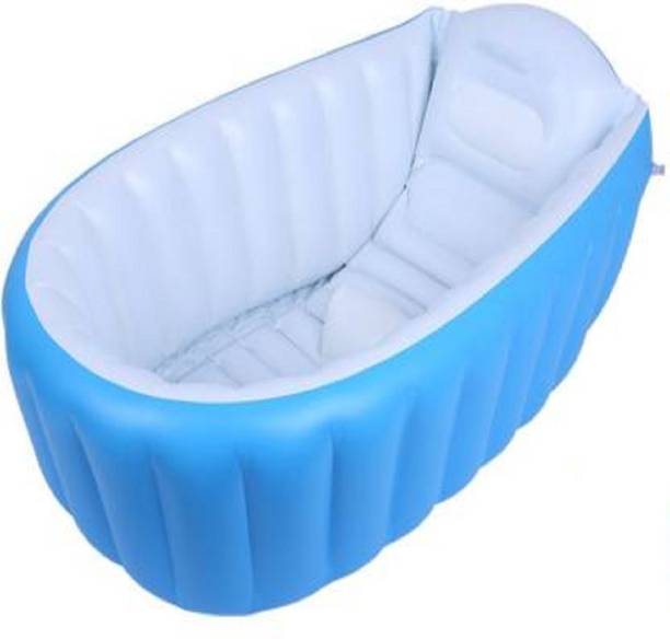 HOPZ Blue Color Baby Bathtub Inflatable Swimming Pool
