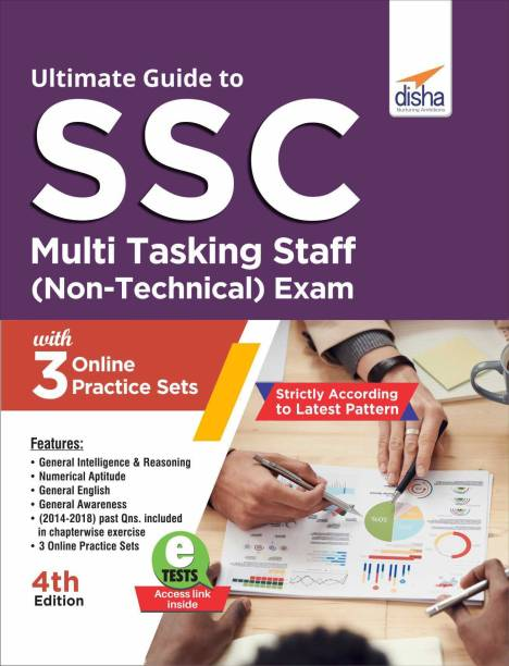 Ultimate Guide to SSC Multi Tasking Staff (Non-Technical) Exam with 3 Online Practice Sets 4th Edition