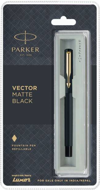 PARKER Vector Matte Black Fountain Pen