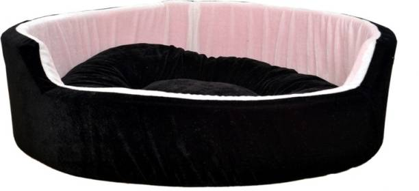 R.K Products 51 BLACK WITH WHITE S Pet Bed