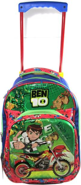 ehuntz Ben10 for (4 to 12 years) Trolley/Travel Bag school Bag/Gift bag (EH2122) Waterproof Trolley