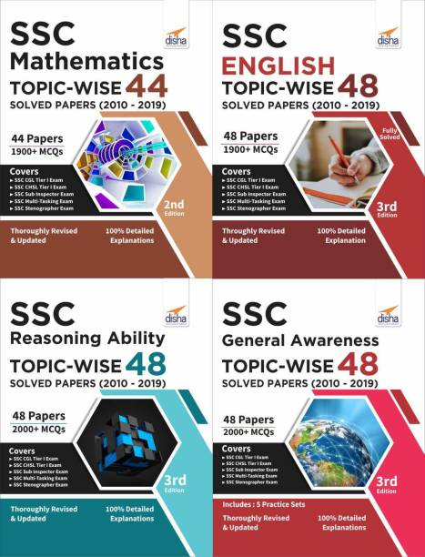 Ssc Topic-Wise 48 Solved Papers (2010-2019)