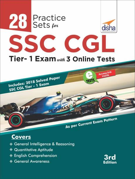 28 Practice Sets for SSC CGL Tier I Exam with 3 Online Tests 3rd Edition