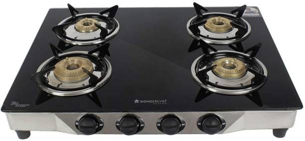 WONDERCHEF Stainless Steel Manual Gas Stove
