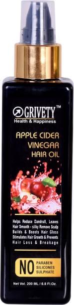 GRIVETY Apple Cider Vinegar & Organic Argan Oil Hair Hair Oil