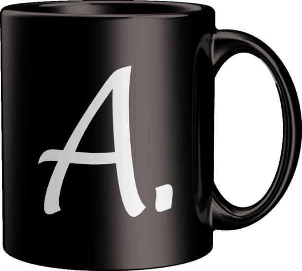 ECFAK Quotes With Alphabet: A Ceramic Coffee Mug