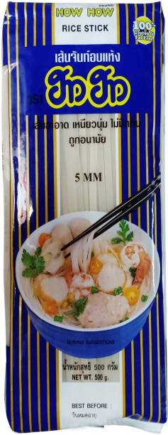 How How Brand Stick Rice 5mm Instant Noodles Vegetarian
