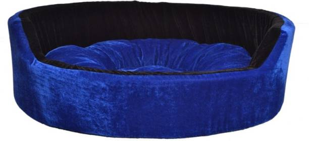 RK PRODUCTS 49 BLUE WITH BLACK M Pet Bed