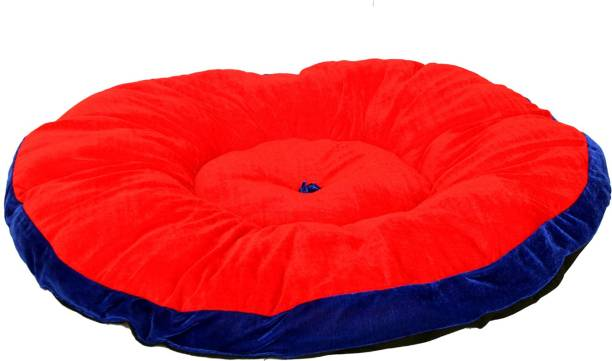 R.K Products 17 red with blue patti S Pet Bed