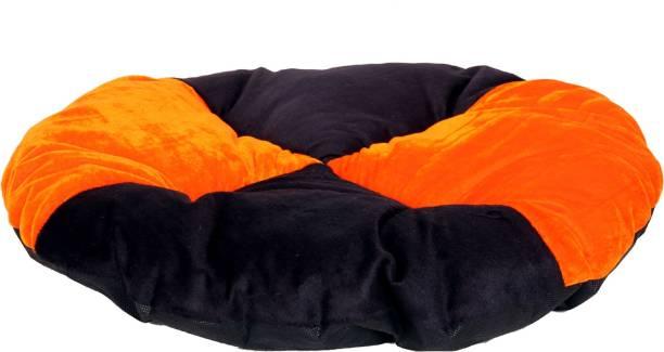 R.K Products 14 orange witj black gadi S Pet Bed