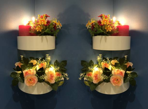 WORA Corners Self-adhesive Dressing Living Room Decoration Plastic Wall Shelf
