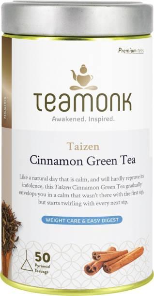 Teamonk Taizen Cinnamon Green Tea Tin