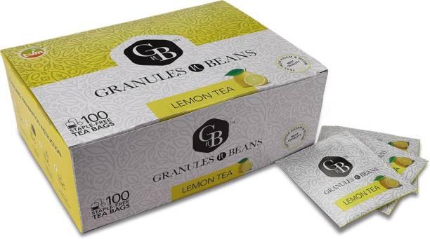 Granules and Beans GranulesnBeans Lemon Tea (Tea Bags) Lemon Herbal Tea Bags Box