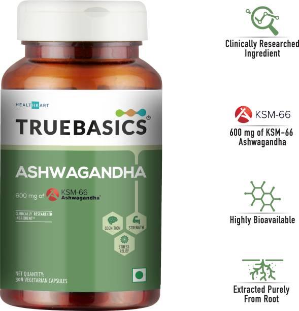 TrueBasics Ashwagandha (30 Capsules)