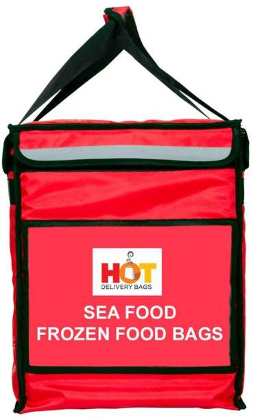 Hot Delivery Insulated Sea Food Cooler Thermal Delivery Bags for Cut Vegetables, Sea Food, Fish, Frozen Food Delivery Bags (14*14*17 Inches) 35 L Backpack