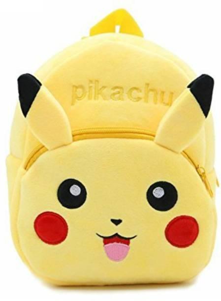 Love And Joy Pikachu lovely Kids school Bag ,Plush Bag Plush Bag