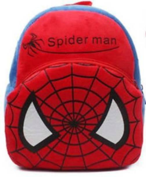 Love And Joy Kid Child Kindergarten Plush Doll School Bag Backpack Hero Spiderman School Bag School Bag Plush Bag