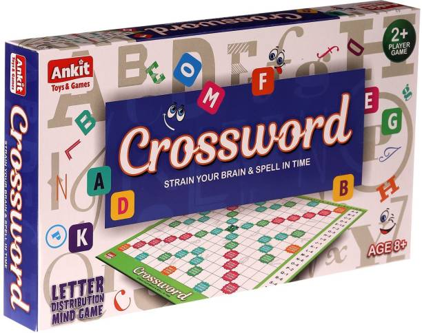 NHR Classic Crossword Board Game Word Games Board Game