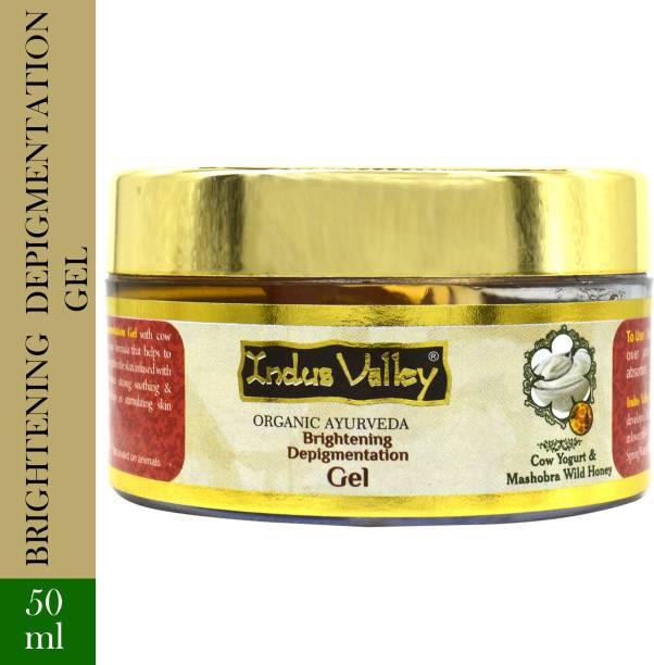 Indus Valley Brightening Depigmentation Gel - Enriched with Cow Yogurt and Honey