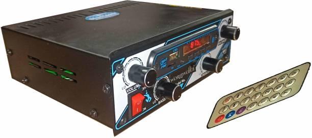 world voice Matel Body Bluetooth Car Media Player + BT Board FM/ MP3/ USB/ AUX/ BT (4440 Double IC) Car Stereo