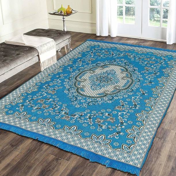 NCS Light Blue Velvet Carpet