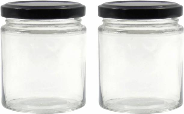 FARKRAFT  - 190 ml Glass Grocery Container