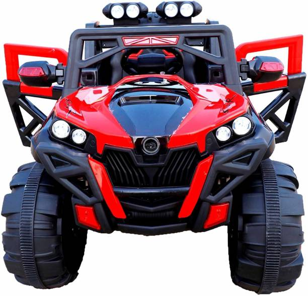 letzride LZ 2188 Red Jeep Battery Operated Ride On