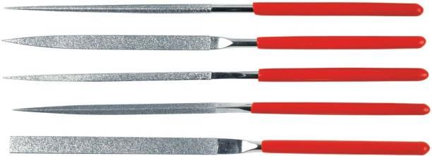 inditrust 5PCS NEEDLE FILE SET Knife Sharpening Steel