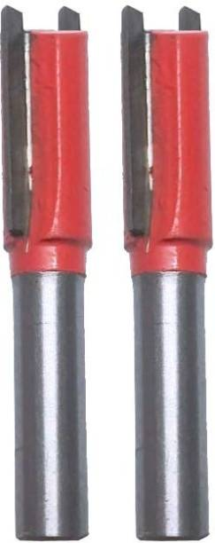 Mass Pro Double Blade Wood Working Straight Router Bit 9502 Rotary Bit Set