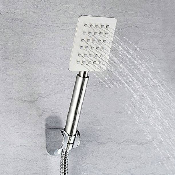 Dr. Homz N Kitch RUST FREE HAND SHOWER WITH 1.5 METER STAINLESS STEEL HOSE A6 Hand held Rainfall