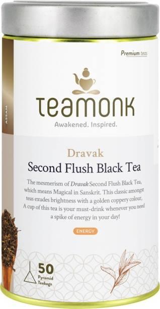 Teamonk Dravak Assam Black Tea Tin