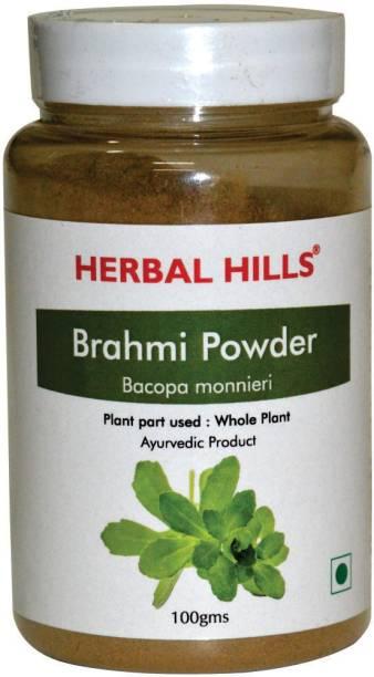 Herbal Hills Brahmi Powder (Pack of 4)