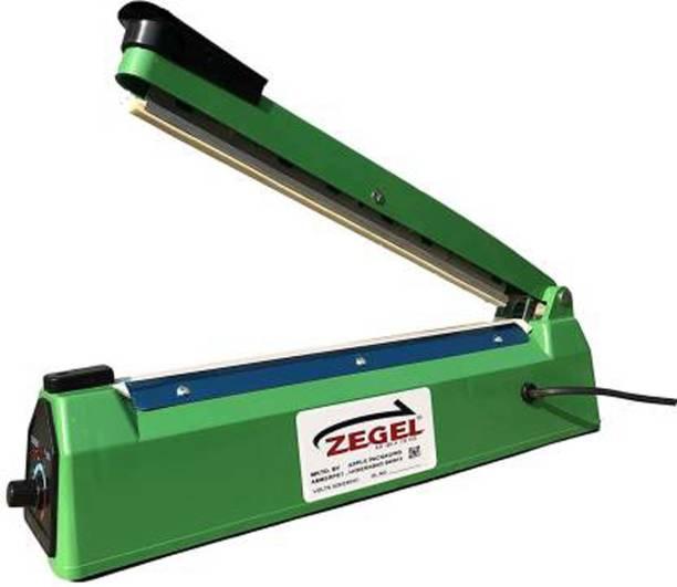 Zegel 08 Inch Heat Sealing Machine Portable Hand Sealer Electric Impulse Seal Plastic Bag, Sealer, Machine, Electric, Packing Machine Hand Held Heat Sealer Table Top Heat Sealer