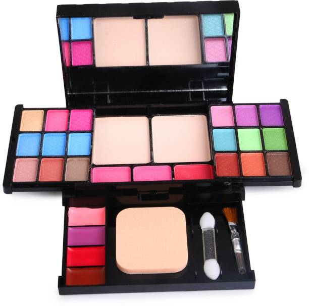 T.Y.A 18 EYE-SHADOW 2 COMPACT 3 BLUSHER 4 LIP-COLOR 1 PUFF 2 BRUSHES