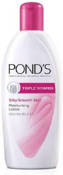 PONDS Triple Vitamin Silky Smooth Skin Moisturising Lotion