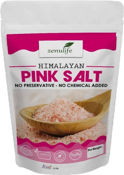 zenulife Pink Himalayan Rock Salt 100g Himalayan Pink Salt