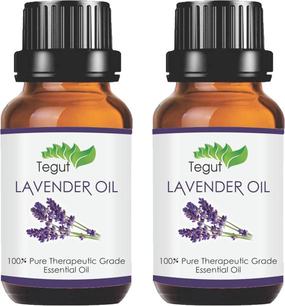 Tegut Best Lavender Essential Oil Steam Distilled Natural, Pure And Organic(10 ml) (Pack of 2)