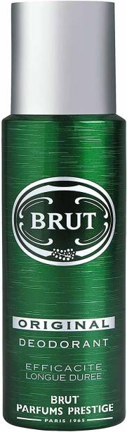 BRUT ORIGNAL DEODORANT Body Spray  -  For Men & Women