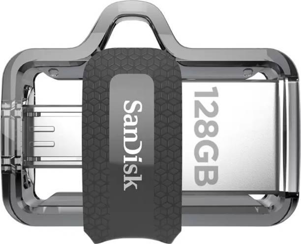 SanDisk OTG 3.0 Dual Drive 128 GB Pen Drive