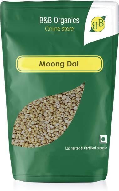 B&B Organics Organic Yellow Moong Dal (Split)