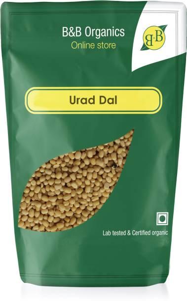 B&B Organics White Urad Dal (Whole)