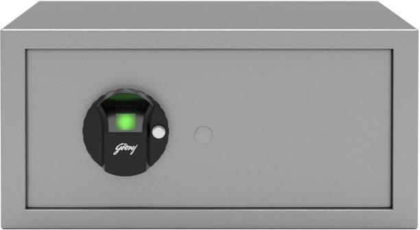 Godrej Forte Pro 20 Litres Biometric Safe Locker for Home & Office with Optical Finger Print Sensor - Grey Safe Locker