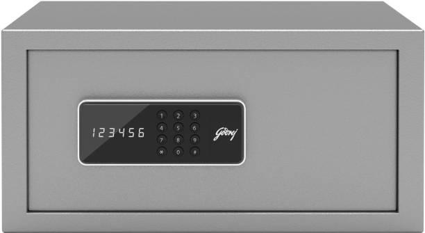 Godrej Forte Pro 20 Litres Digital Electronic Safe Locker for Home & Office with Motorized Locking Mechanism - Grey Safe Locker