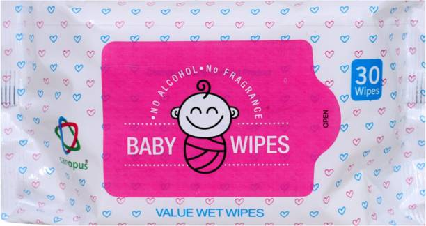 Canopus Baby Value Wet Wipes (2X30)