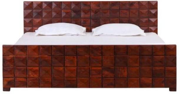 Versatile Alex King Size Bed Solid Wood King Drawer Bed