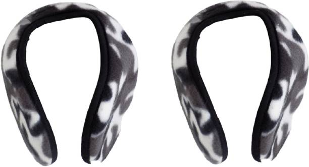 AASA Combo Set Of 2 Ear Muffs Winter Unisex Headband For Snow And Travel Outdoor Use Ear Muff