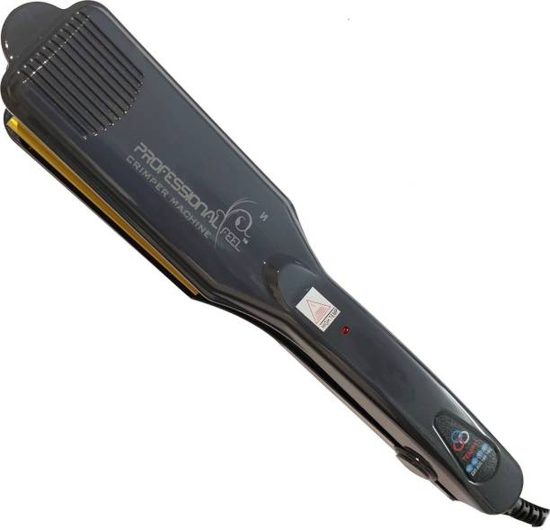 PROFESSIONAL FEEL Hair Crimper Cum Hair Straightener - [ Crimping The Hair Without Damage ] Electric Hair Styler