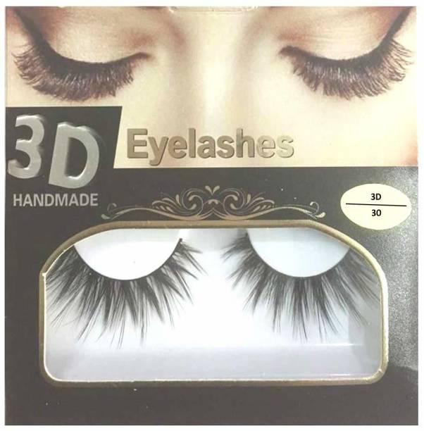 BELLA HARARO 3D Handmade Eyelashes for Girl, Eyelashes for Women (Pack of 1 Pair)